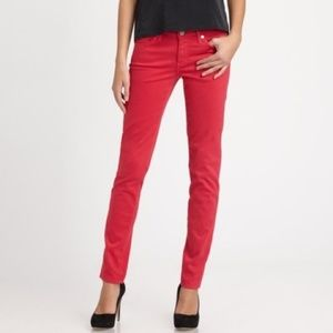 NWOT AG Adriano Goldschmied Red Stilt Jeans